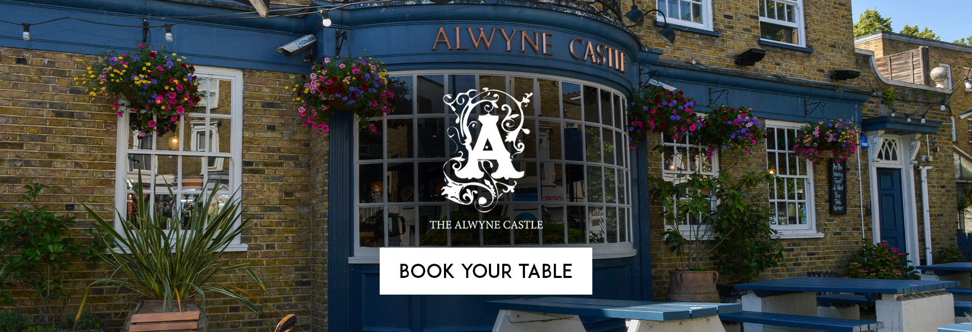 Book Your Table at The Alwyne Castle